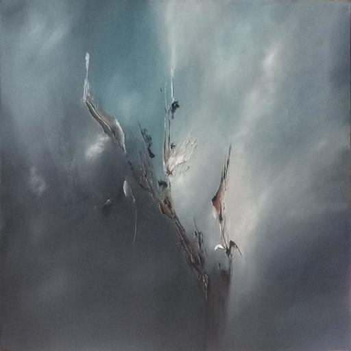 Fabienne RIBEYROLLES - Peinture - Frimas