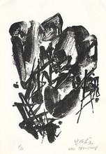 CHU Teh-Chun - Estampe-Multiple - CARTE  VOEUX