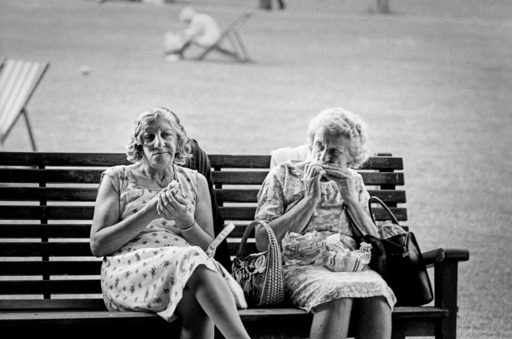 Robbert Frank HAGENS - Photography - Friends in the Park - Hyde Park, London 1977