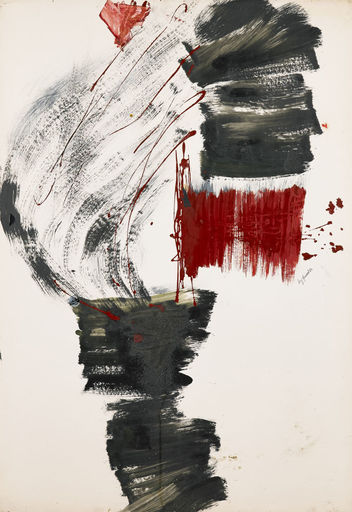 Mig QUINET - Gemälde - Flammes grises