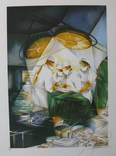 Raymond POULET - Print-Multiple - *In Surgery