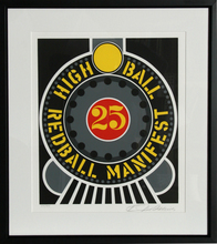 Robert INDIANA - Grabado - High Ball Redball Manifest