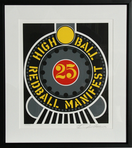 Robert INDIANA - Stampa-Multiplo - High Ball Redball Manifest