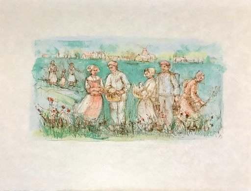 Edna HIBEL - Print-Multiple - Friesland