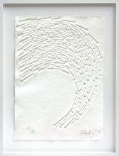 Günther UECKER - Print-Multiple - Weisser Vogel