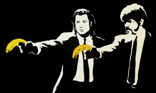BANKSY - Stampa-Multiplo - Pulp Fiction