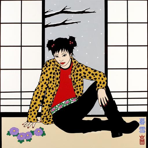 MARIAMANUELA - Painting - Twilight Snowfall (Kure Yuki)