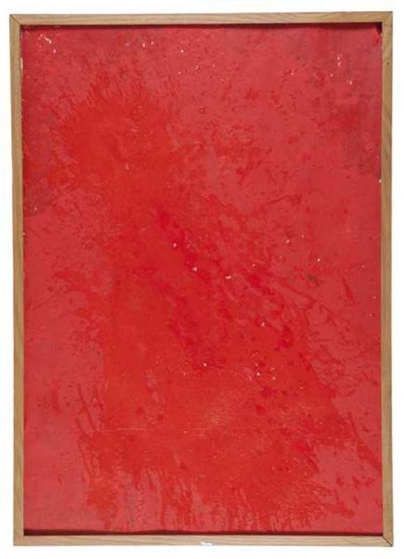 Hermann NITSCH - Painting - Malaktion 81
