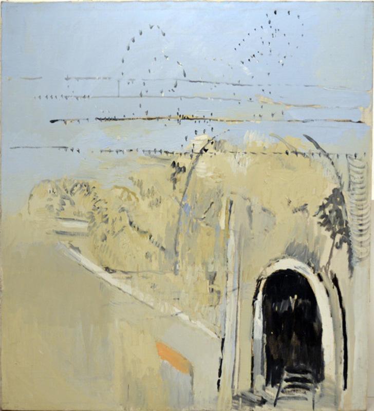 Alberto GIANQUINTO - Painting - Le Rondini