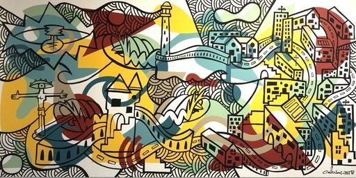 Nils INNE - Peinture - Biaritz