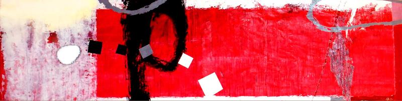 Kakhaber TATISHVILI - Painting - Red composition