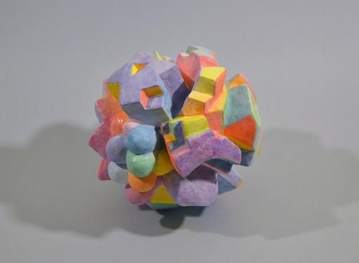 Tim TAYLOR - 雕塑 - Fresco Form 2