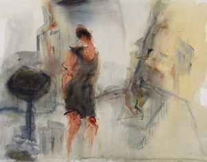 Kiro URDIN - 水彩作品 - Désir