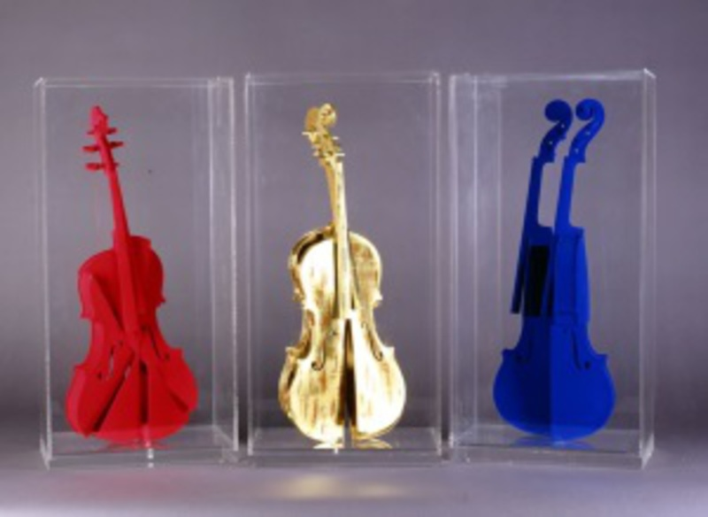 Fernandez ARMAN - Escultura - Hommage à Yves Klein