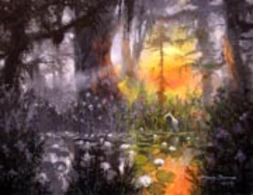 James COLEMAN - Pintura - IN THE WARM STILLNESS