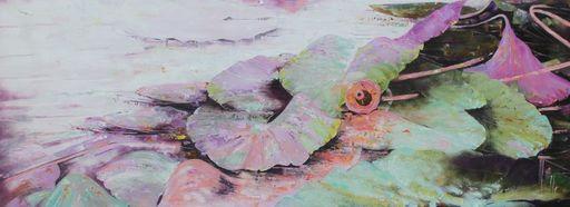 Nadine PILLON - Painting - Le rêve a besoin d'eau