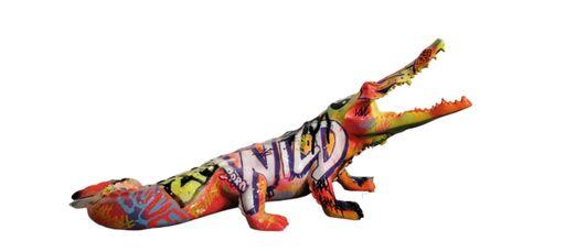 Richard ORLINSKI - Sculpture-Volume - Crocodile Tag