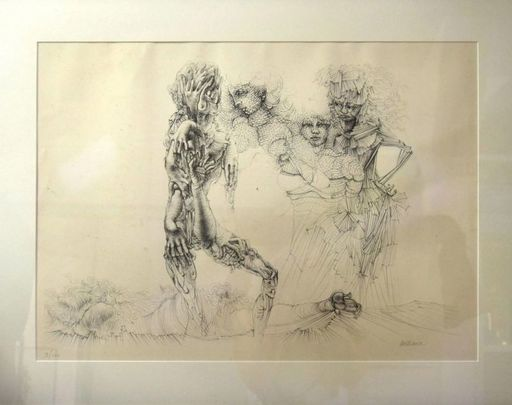 Hans BELLMER - Print-Multiple - Personnages