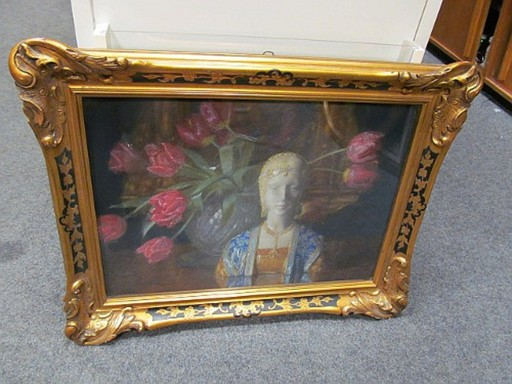 Arthur Ludwig RATZKA - Gemälde - Beatrice d`Este - Stilleben