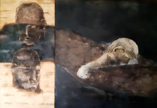 Joan BENNASSAR - 绘画 - BANYS NOCTURNS