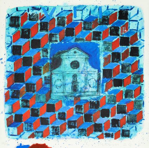 Joe TILSON - Print-Multiple - The Stone of Venice Anzolo Rafael