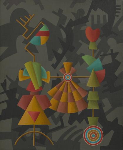 Enrique Rodriguez GUZPENA - Pintura - Las sombras