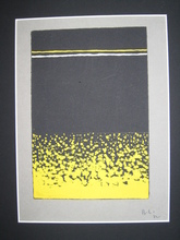 Boris LACROIX - Drawing-Watercolor - PROJET POUR UN TAPIS ART DECO