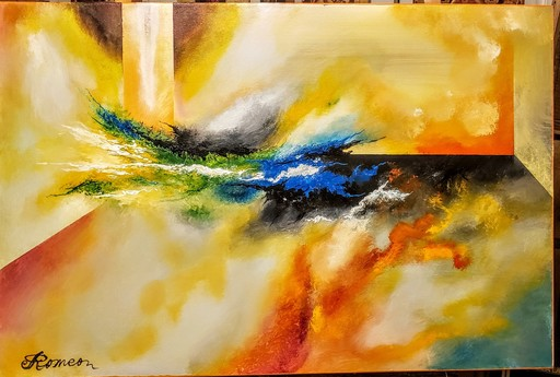 Romeo DOBROTA - Painting - Energy,