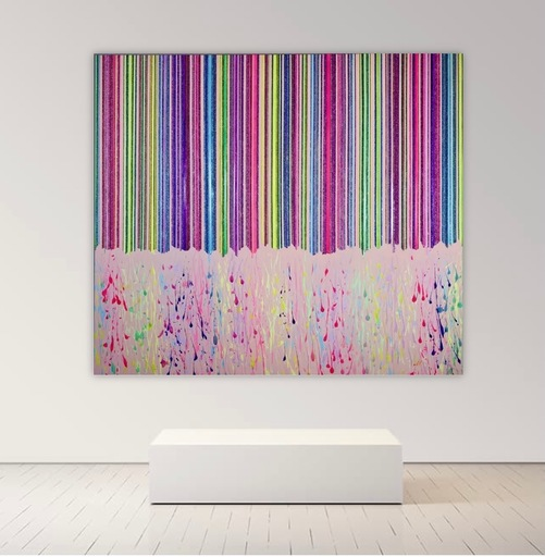 Alexandra BERNARDINI - Gemälde - 200x230 Les portes du paradis 01