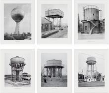 Bernd & Hilla BECHER - Print-Multiple - Sechs Wassertürme