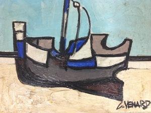 Claude VENARD - 绘画 - Marée basse