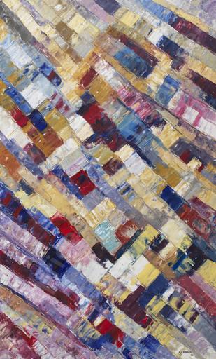 Jacques GERMAIN - Peinture - Composition, 1960