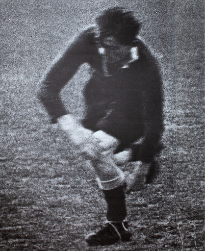 Darío VILLALBA - Pittura - Futbolista I