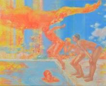 Hiromi SENGOKU - Pittura -  Beyond the beyond the summer