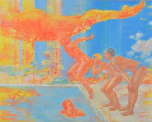 Hiromi SENGOKU - Peinture -  Beyond the beyond the summer
