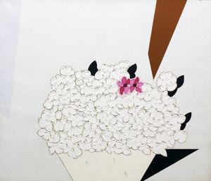 Concetto POZZATI - Painting - A che punto siamo con i fiori?