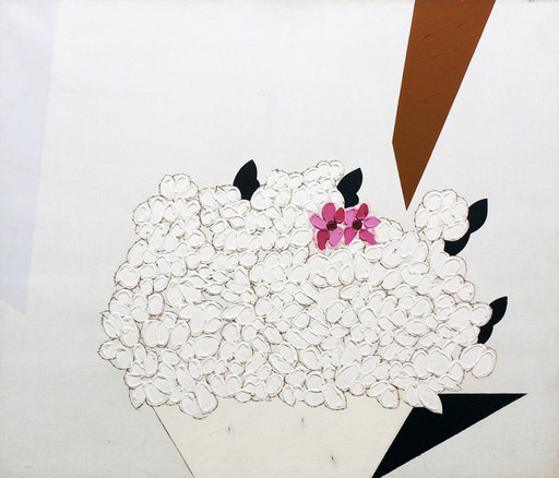 Concetto POZZATI - Gemälde - A che punto siamo con i fiori?