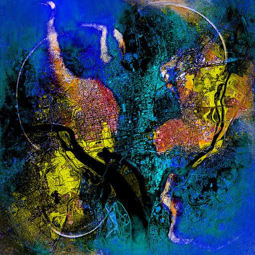 Roland S. HEIM - Painting - Washington dc no3
