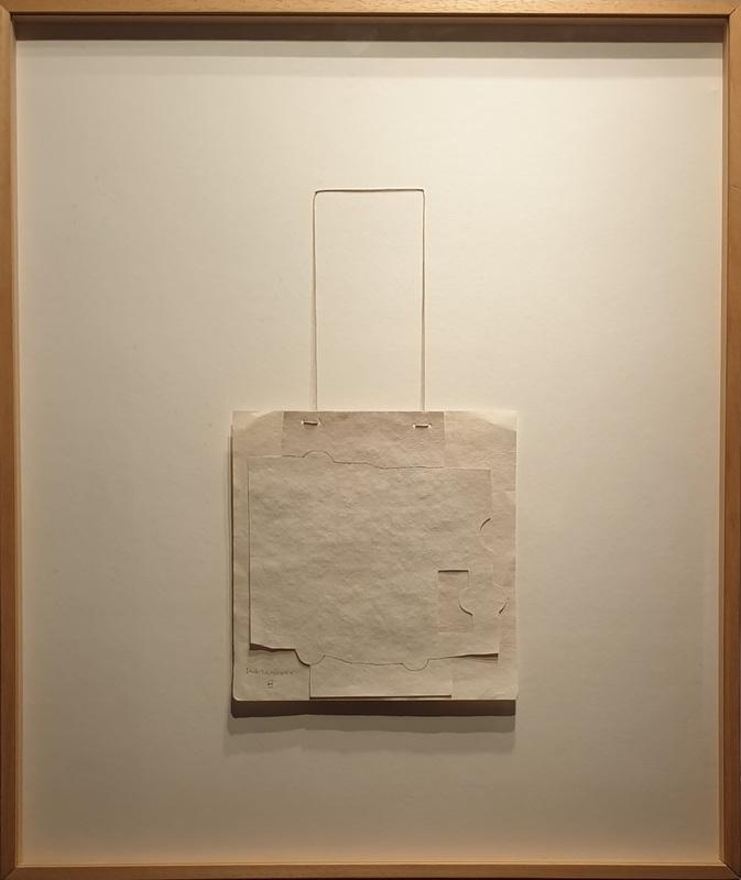 Eduardo CHILLIDA - Drawing-Watercolor - GRAVITACIÓN