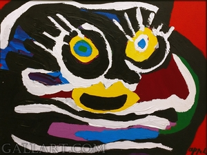 Karel APPEL - Pintura - UNTITLED