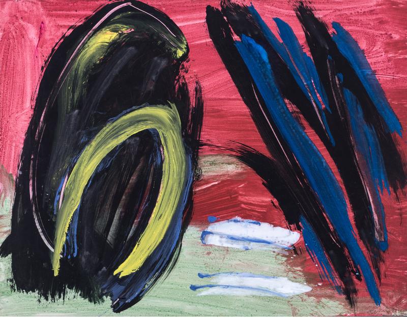 Gérard Ernest SCHNEIDER - Peinture - Composition