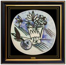 Pablo PICASSO - Céramique - Bouquet a la pomme