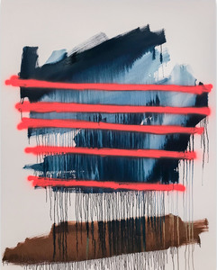 Tommaso FATTOVICH - Painting - Delirio En Carretera (Abstract painting)
