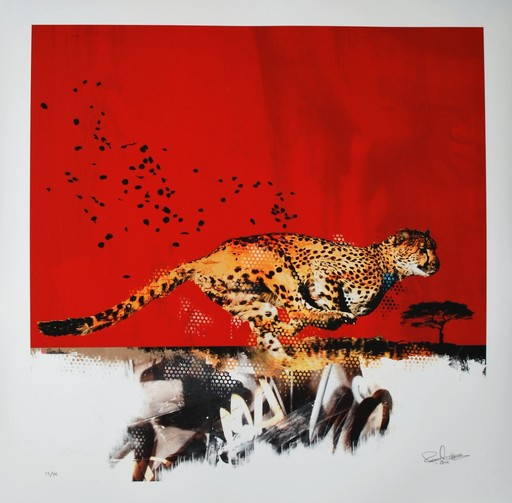 Robert HILMERSSON - Print-Multiple - Spotless Red
