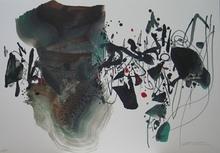 朱德群 - 版画 - JEUX OLYMPIQUES BARCELONE