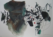 CHU Teh-Chun - Print-Multiple - JEUX OLYMPIQUES BARCELONE