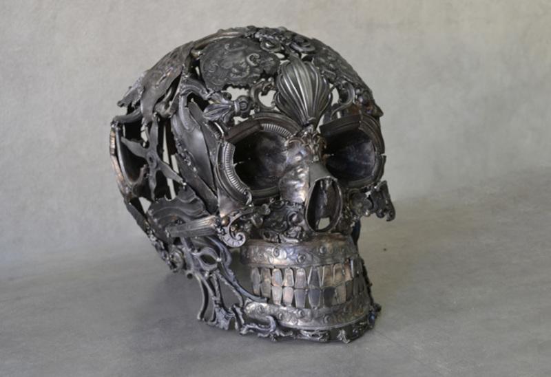 Alain BELLINO - Sculpture-Volume - L'âge d'étain