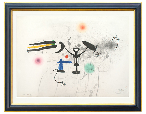 Joan MIRO - Print-Multiple - Le Troubadour