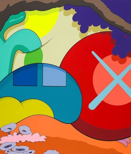 KAWS - Estampe-Multiple - You Should Know I Know