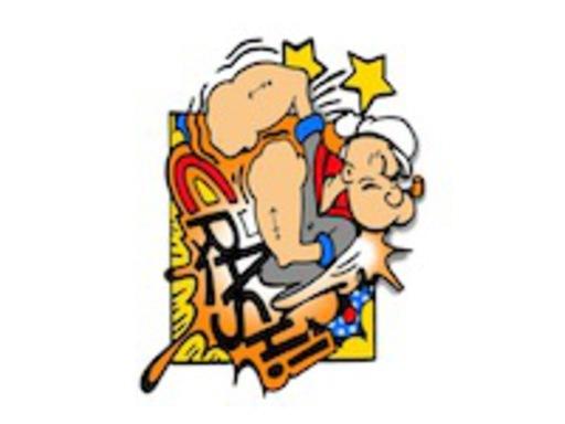 CRASH - Grabado - Popeye